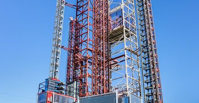 Test Tower USA Hoist
