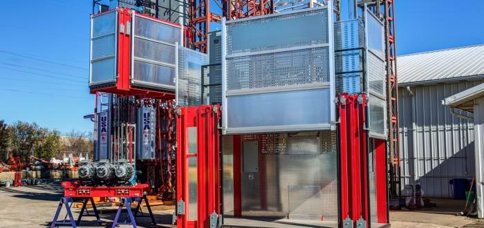 USA Hoist test tower 2