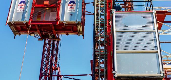 USA Hoist test tower 4